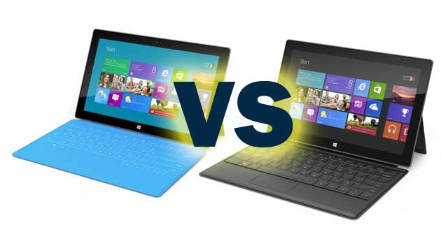 Surface 1 VS 2 Pro